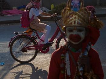印度的化装乞丐05
