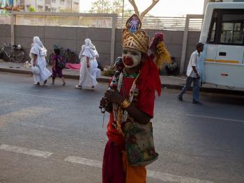 印度的化装乞丐06
