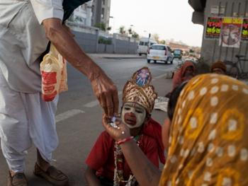 印度的化装乞丐07