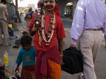 印度的化装乞丐08