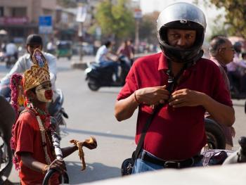 印度的化装乞丐09