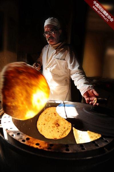 伊朗的主食馕饼