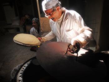 伊朗的主食馕饼2