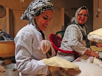 伊朗的主食馕饼4