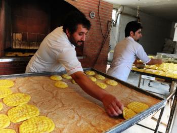 伊朗的主食馕饼5