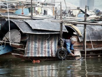 水上渔村05