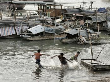 水上渔村06