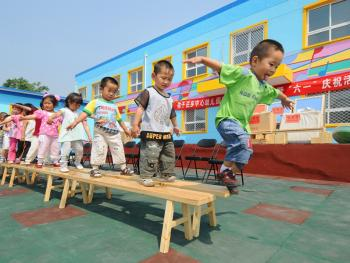 乡村幼儿园的变迁10