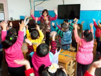 乡村幼儿园的变迁11