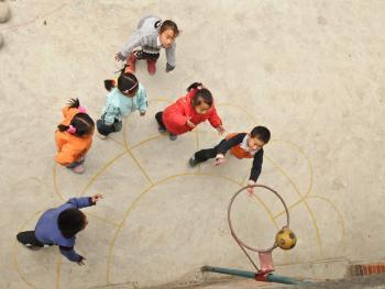 乡村幼儿园的变迁