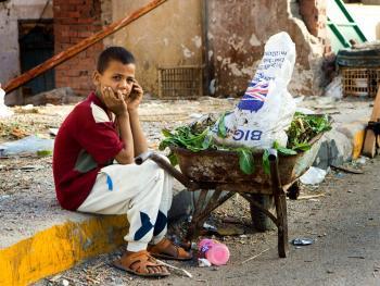 埃及塞法杰港的生活