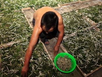 中国传统丝绸加工