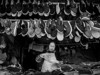 手工棉鞋06