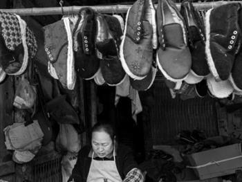手工棉鞋07