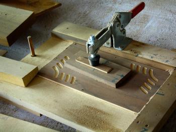 传统手风琴制作