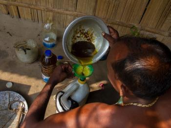 榨芥子油的传统工艺10
