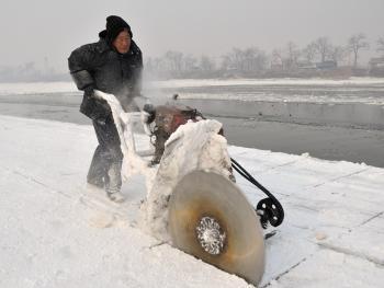 天然冰采集与储存