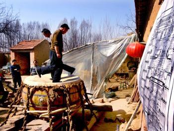 中国手工制鼓8