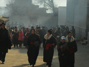 藏族喝早茶