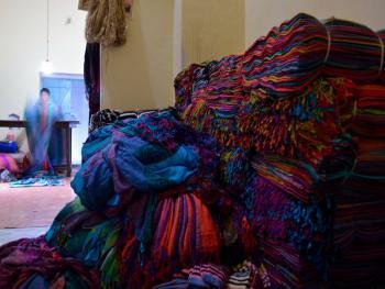传统棉线布制造14
