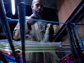 传统棉线布制造09