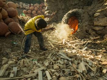 埃及陶工的一天