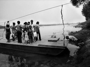 河里圈拉纤渡船13