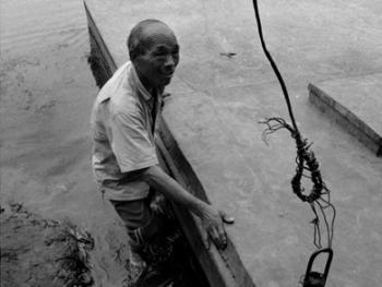 河里圈拉纤渡船14