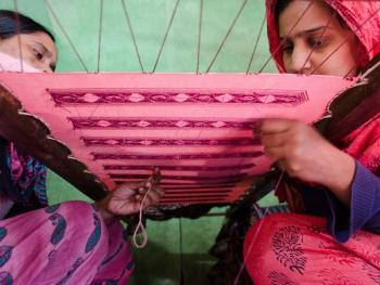 孟加拉的班尼尔鄂什纱丽05