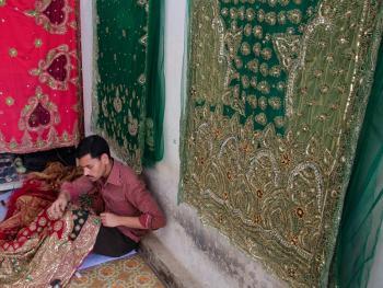 孟加拉的班尼尔鄂什纱丽7