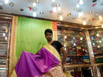 孟加拉的班尼尔鄂什纱丽8