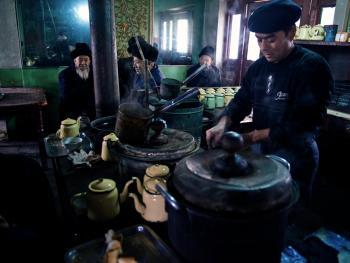 喀什老茶馆