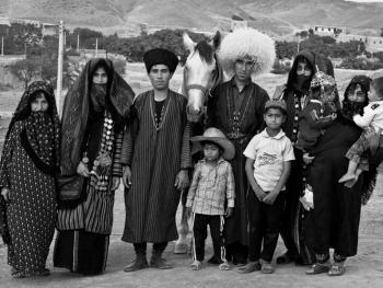 土库曼人和马14