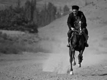 土库曼人和马08