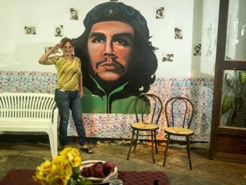 古巴的格瓦拉壁画像10