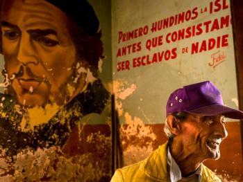 古巴的格瓦拉壁画像11