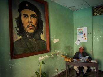 古巴的格瓦拉壁画像12