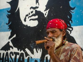 古巴的格瓦拉壁画像13