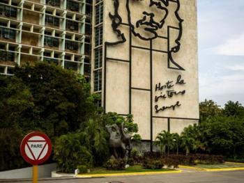 古巴的格瓦拉壁画像14
