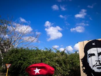 古巴的格瓦拉壁画像02
