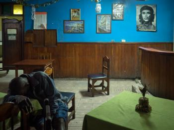 古巴的格瓦拉壁画像03