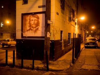 古巴的格瓦拉壁画像08