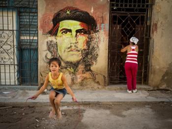 古巴的格瓦拉壁画像09