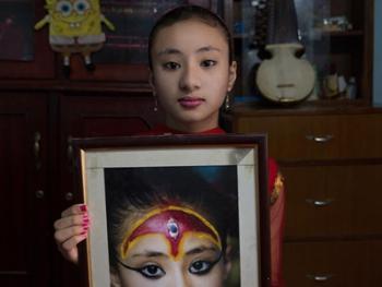 尼泊尔卸任的库玛丽06