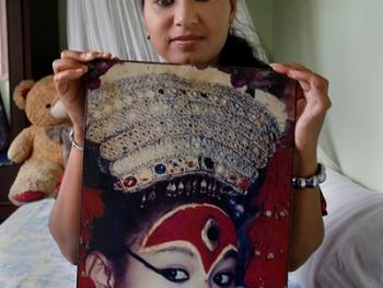 尼泊尔卸任的库玛丽09