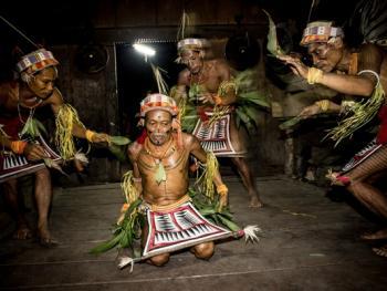 明打威群岛上的部落11