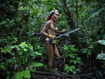 明打威群岛上的部落