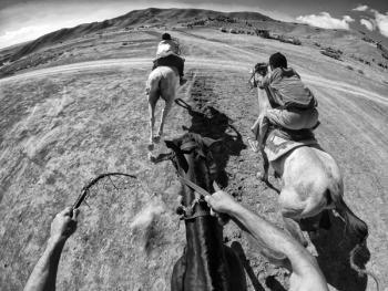 马与伊朗的土库曼人13