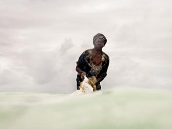 坦桑尼亚的海藻收获10