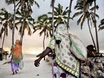 坦桑尼亚的海藻收获12